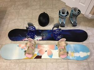 2 Snowboard package
