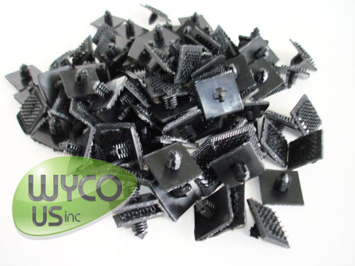 100 HOOK SNAP TABS FOR PAD DRIVERS, LPG BURNISHERS, WALK BEHIND SCRUBBERS, 6E