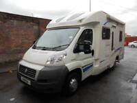 LUNAR CHAMP H591, LOW PROFILE, 4 BERTH, FIXED BED, 4 SEAT BELTS