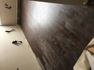 Ceramic floor and vinyl plank installer needed