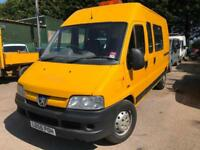 Peugeot Boxer 350 lx crewvan spares or repairs 256k miles clutch slipping no mot