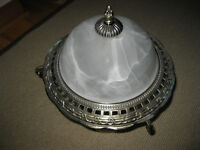 Light Fixture Frosted Glass
