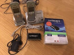 netTALK DUO WiFi and 2 Phones