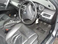 BMW 525 2.5TD d SE Touring, Grey, 5 Doors. Sat Nav,