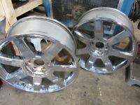 2009 Cadillac Escalade Chrome Rims