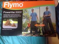 Flymo PowerVac 3000 Electric Garden Blower Vacuum 3000W Brand New Condition Only Been Used Once £30
