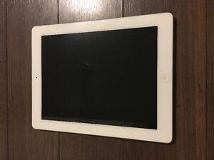 iPad4 32gb wifi white and keyboard
