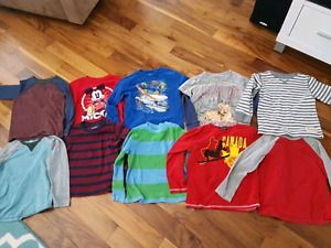 5T boys long sleeve shirts - 10 for $20