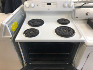 Both coil top and ceramic top stoves.