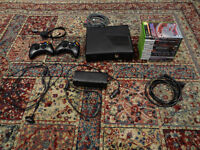 Black 120Gb Xbox 360 W/ 2 controllers and games CHEAP