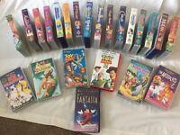 Disney and Pixar videos - 23 in total