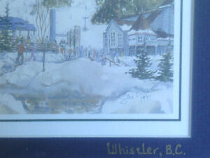 2 Framed Prints of Whistler Blackcomb by Sue Quarles North Shore Greater Vancouver Area image 6