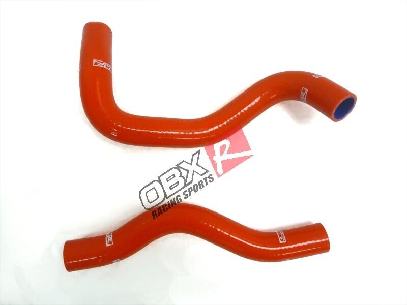 Red Radiator Hose Kit For 1996-2000 Ford Mustang GT 4.6L by OBX Racing Sports