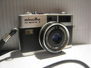 Minolta Hi-matic F 35mm film camera