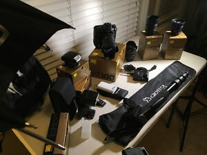 COMPLETE NIKON D7100 PACKAGE Cambridge Kitchener Area image 6