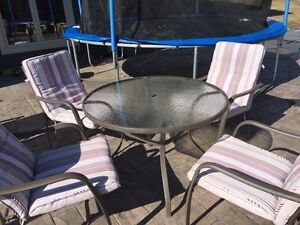 SOLD Patio dining set