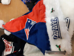 New England Patriots xmas hat