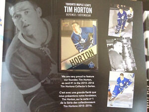 Tim Hortons UD 2015-16 Limited Ed Collectors Series Book Kitchener / Waterloo Kitchener Area image 3