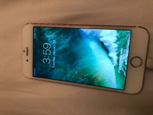 16GB iPhone 6s rose gold for sale- locked to bell