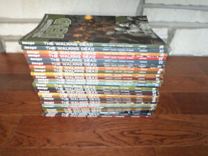 26 Walking Dead Graphic Novels/Comics Collectible  New Condition