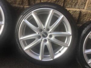 4 pneus hiver 225/40r18 Pirelli Sottozero R/F Mini Clubman 5x112