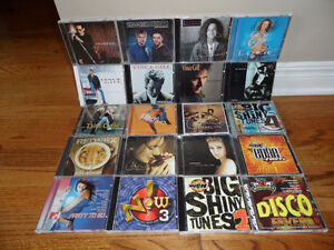 19 MISCELLANEOUS CD'S - INCLUDE THE FOLLOWING;  4 x VINCE GILL,