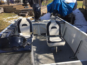 15 Angler w/25 MercuryEL 4 stroke and trailer