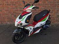 NEW Lexmoto Monza 125 learner legal own this scooter for only £11.61 a week