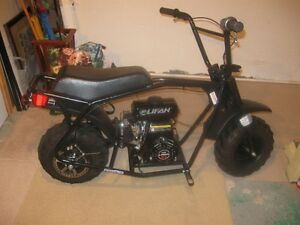 MINT GAS MINI BIKE FOR SALE OR TRADE FOR GAS GO KART