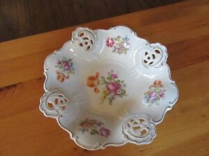 VINTAGE WEIMAR PORCELAIN BOWL - GERMANY -  REDUCED!!!!