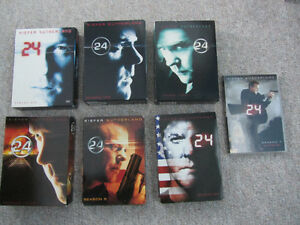 Seasons 1 Thru 7 of 24 on DVD