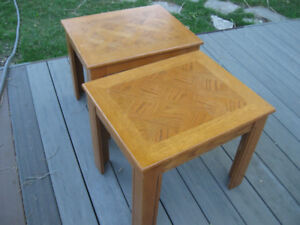 Two nice end table