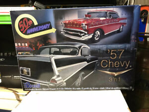 REVELL-1-12-Scale-Model-Car-Kit-039-57-Chevy-Hardtop-85-2619