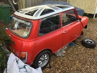 Classic Austin Mini 998cc (fast road) project plus lots of spares