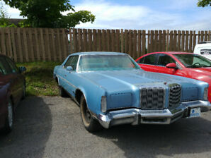 Voiture pour collectionneur - Chrysler New Yorker 1978