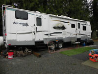 2010 Timber Ridge 32' DSB trailer
