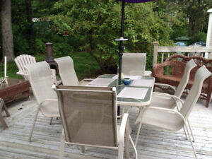 Outdoor dining set - excellent deal