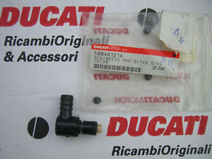Ducati fuel line quick disconnect
