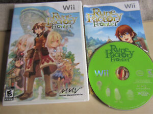 Rune Factory (Fantasy Harvest Moon) Frontier for Wii