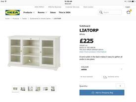 IKEA liatorp side board