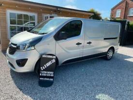 2018 (68) Vauxhall Vivaro 2900 1.6CDTI 120PS Sportive L2 H1 LWB Euro 6 Van