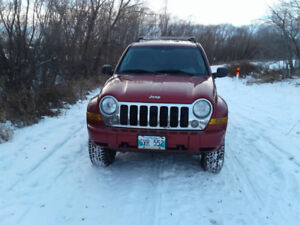 2006 Jeep Liberty Limited Diesel Saftied