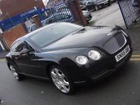 2006 55 PLATE Bentley Continental 6.0 GT 2dr in Black with Mulliner Pack