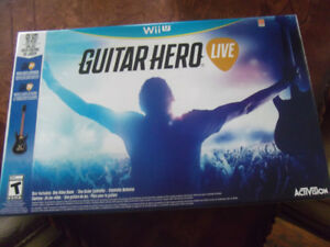 Guitar Hero Wii U, NEUVE