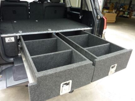 LANDCRUISER 200 SERIES TWIN DRAWER SYSTEM FITTED PRICE