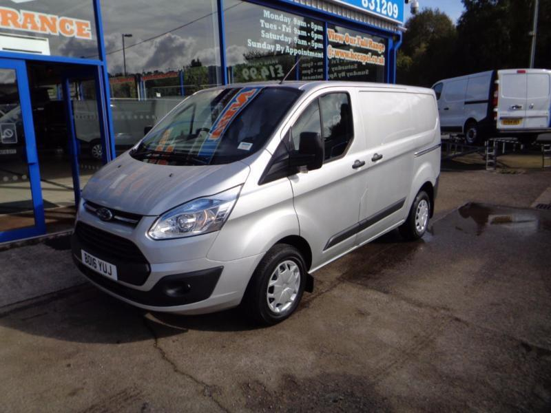 2016 FORD TRANSIT CUSTOM 290 TREND 125BHP .... FORD MANUFACTURES WARRANTY UNTIL