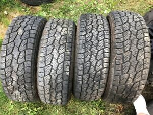 LT265/70/18 sailun all season tires LOAD E 10PLY