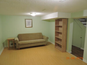 Bachelor basement apartment in Mineola district