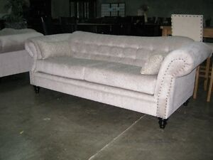 Skyline designer sofa, over 200 fabric choices, Made in BC