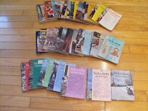 Anciennes revues Reader's Digest